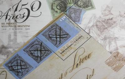 La Primer Estampilla Postal de Argentina