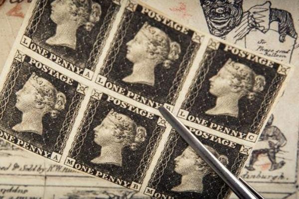 La Primer Estampilla Postal del Mundo